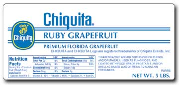 Chiquita Label