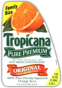 Tropicana Label