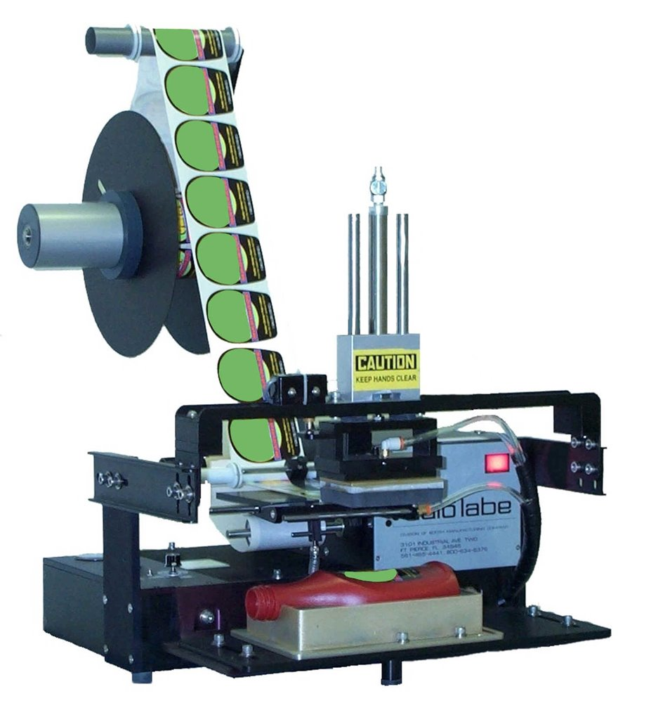 560 Semi-Automatic Tamp-Down Label Applicator